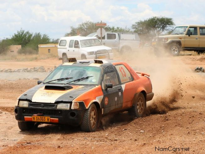 Ford Sapphire Rally in Namibia