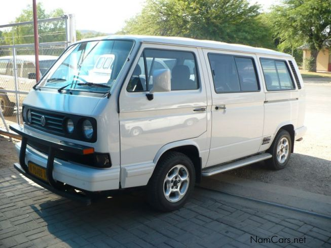Volkswagen Caravelle in Namibia