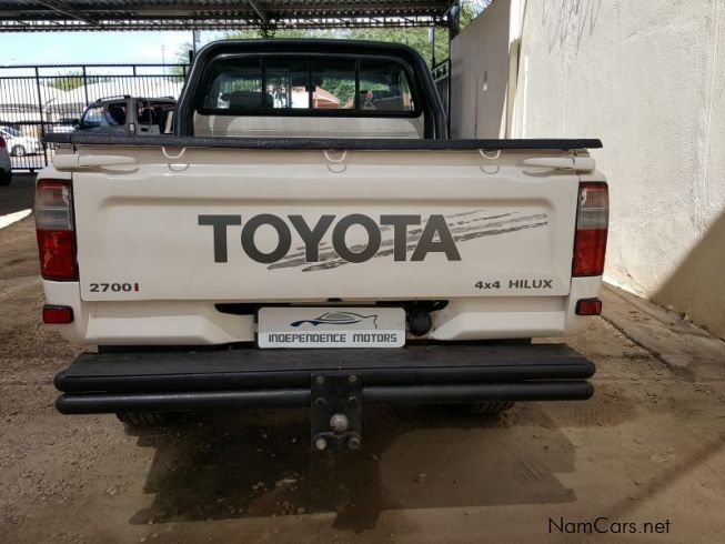 Used Toyota Hilux 2 7 Single Cab 4x4 2001 Hilux 2 7