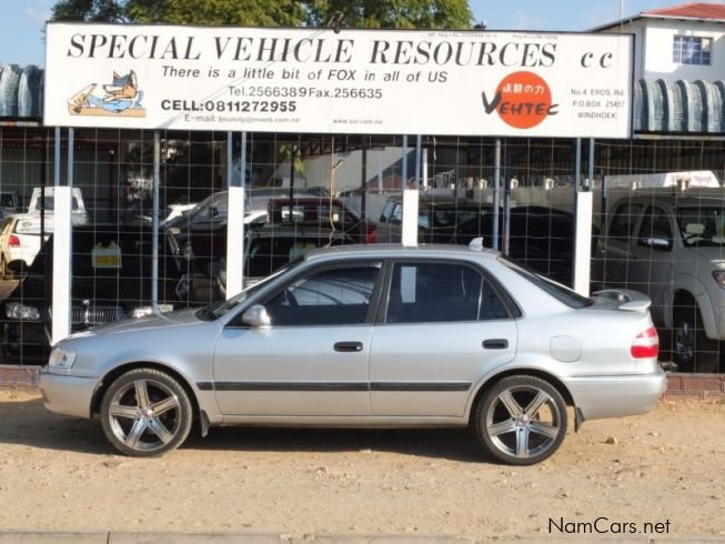 Cars Home Used cars in Windhoek Toyota for sale Used Corolla 2002