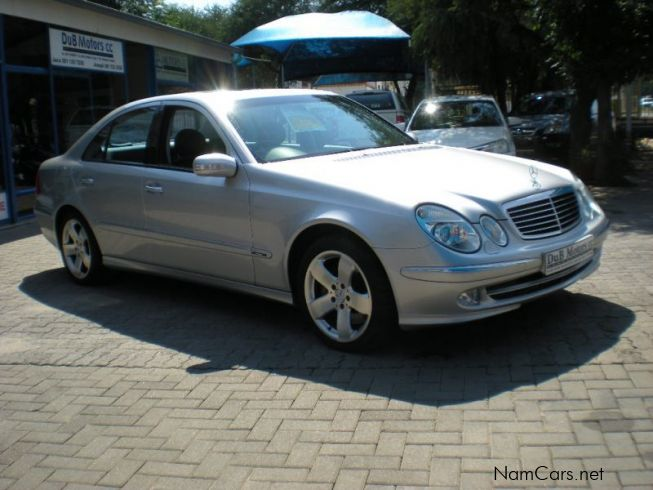 Used mercedes benz e500 avantgarde 2003 e500 avantgarde for Mercedes benz e class 2003 price