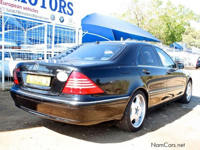 Used mercedes benz s320 2003 s320 for sale windhoek for Mercedes benz s320 price