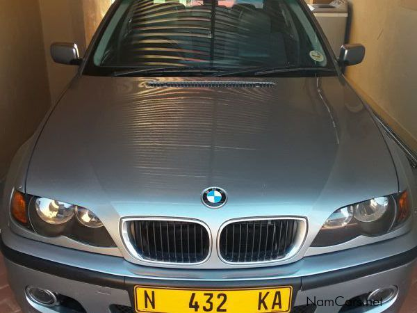 BMW 318i in Namibia