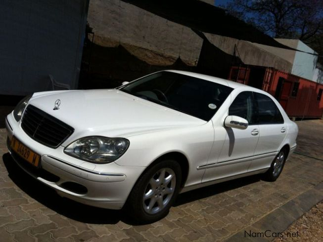 Used mercedes benz s350 2005 s350 for sale windhoek for Used 2005 mercedes benz
