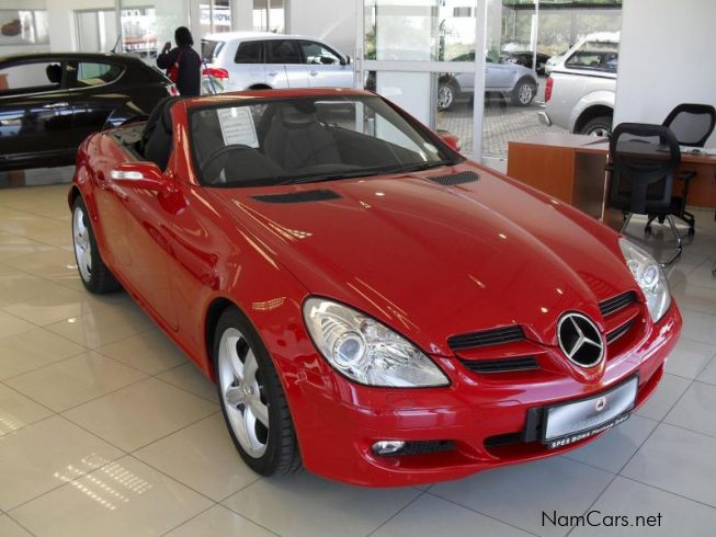 Used Mercedes Benz Slk 350 A T 2005 Slk 350 A T For Sale