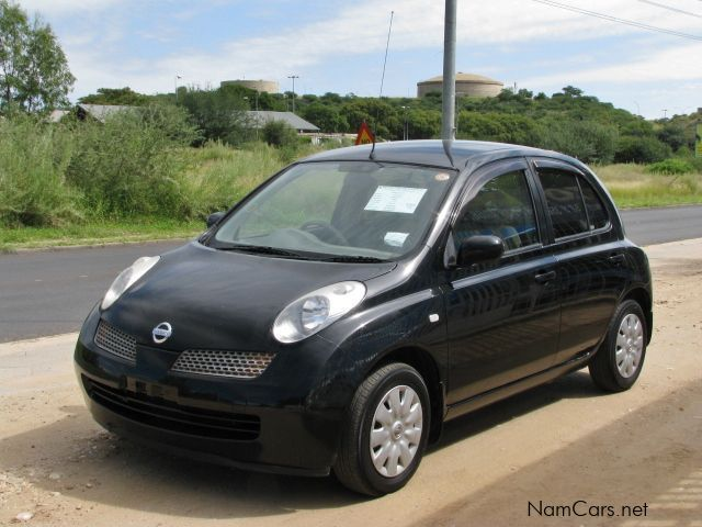 used nissan march micra 2005 march micra for sale. Black Bedroom Furniture Sets. Home Design Ideas