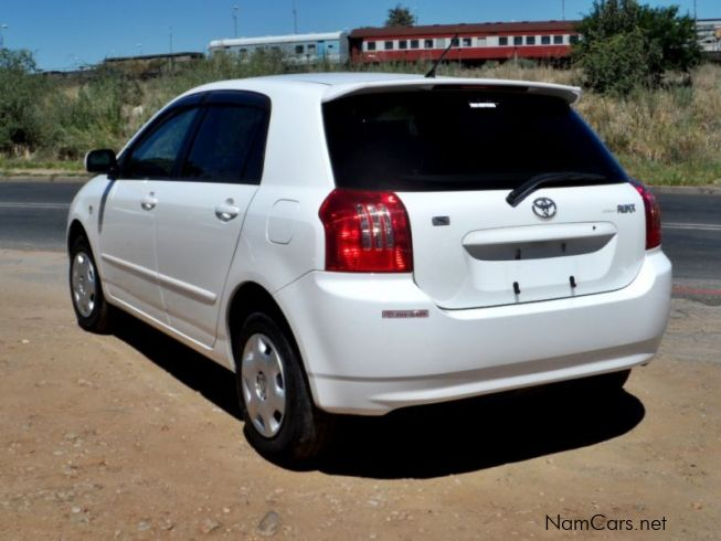 Used Toyota Runx 2005 Runx For Sale Windhoek Toyota