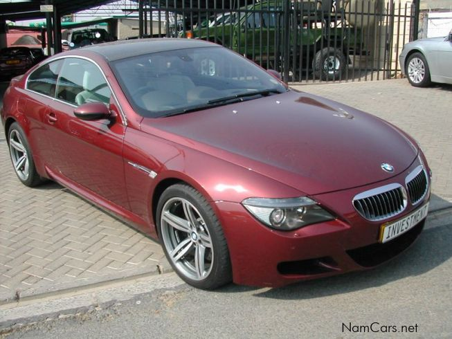 used bmw m6 coupe 2006 m6 coupe for sale windhoek bmw. Black Bedroom Furniture Sets. Home Design Ideas