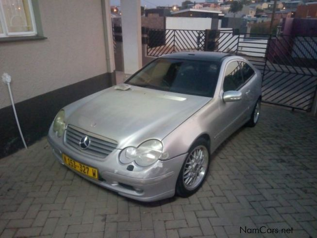 Mercedes-Benz C230 in Namibia