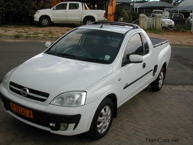 Cars Home Used cars in Windhoek Opel for sale 2006 Opel Corsa bakkie
