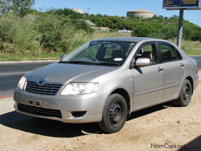 used toyota corolla 2006 corolla for sale windhoek. Black Bedroom Furniture Sets. Home Design Ideas