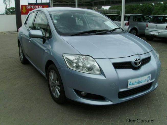 used toyota auris 1 6 rs 2007 auris 1 6 rs for sale. Black Bedroom Furniture Sets. Home Design Ideas