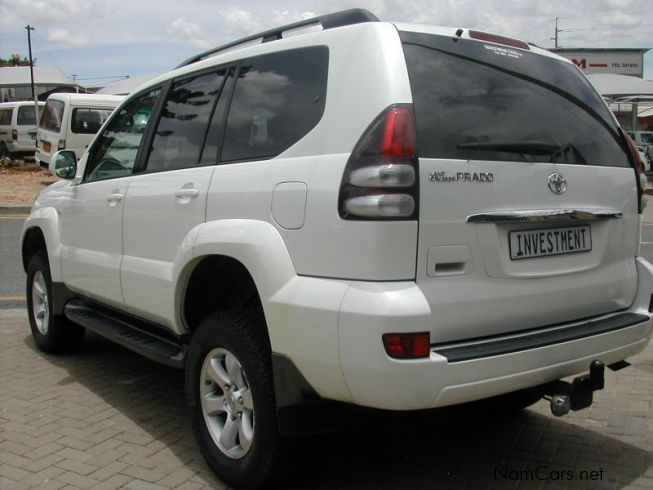 Used Toyota PRADO 3.0 D4D | 2007 PRADO 3.0 D4D for sale | Windhoek Toyota PRADO 3.0 ...