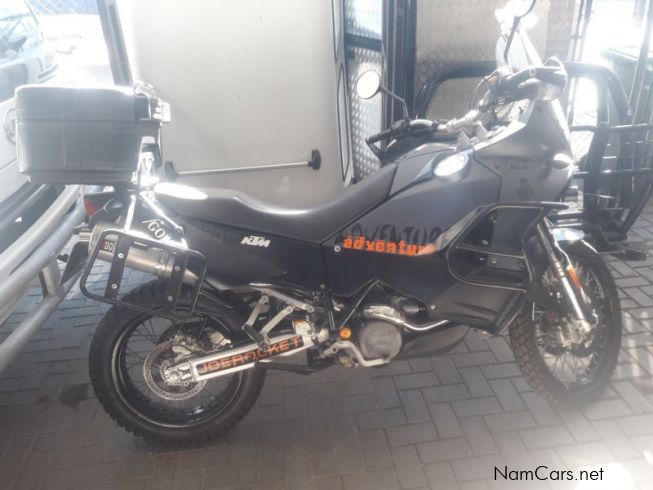 KTM 990 Adventure in Namibia