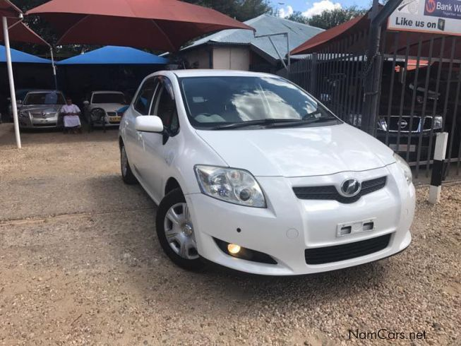 used toyota auris 2008 auris for sale windhoek toyota auris sales toyota auris price n. Black Bedroom Furniture Sets. Home Design Ideas