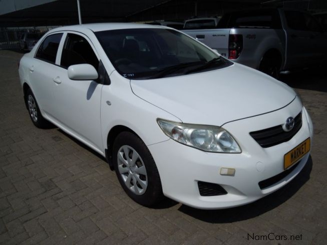 used toyota corolla 1 6i 2009 corolla 1 6i for sale windhoek toyota corolla 1 6i sales. Black Bedroom Furniture Sets. Home Design Ideas