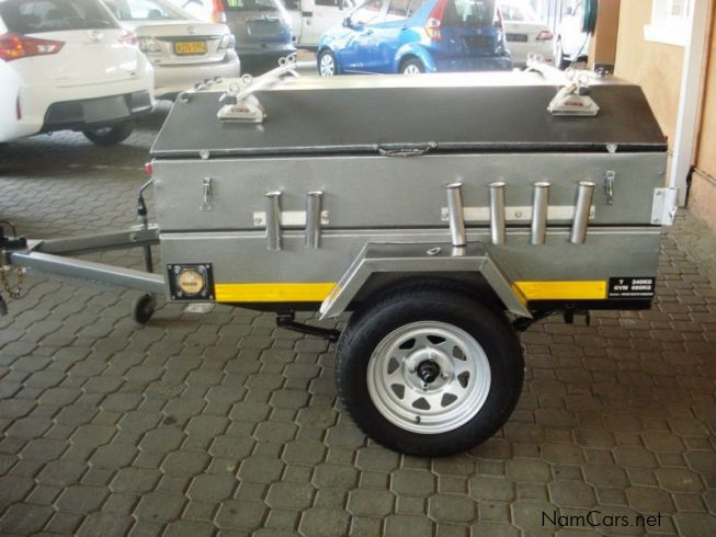 Toyota Ft-1 Price >> Used Home Built 5 Ft (1.5m) Fishing Trailer   2011 5 Ft (1 ...