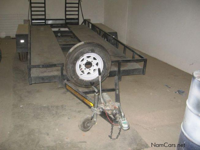 how to build a car trailer