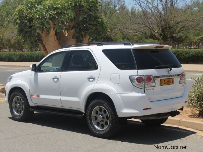 Toyota Fortunerin Namibia