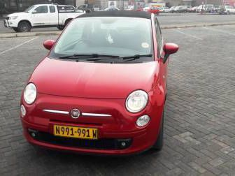 used fiat 500 cc cabriolet 1 2 2012 500 cc cabriolet 1 2 for sale windhoek fiat 500 cc. Black Bedroom Furniture Sets. Home Design Ideas