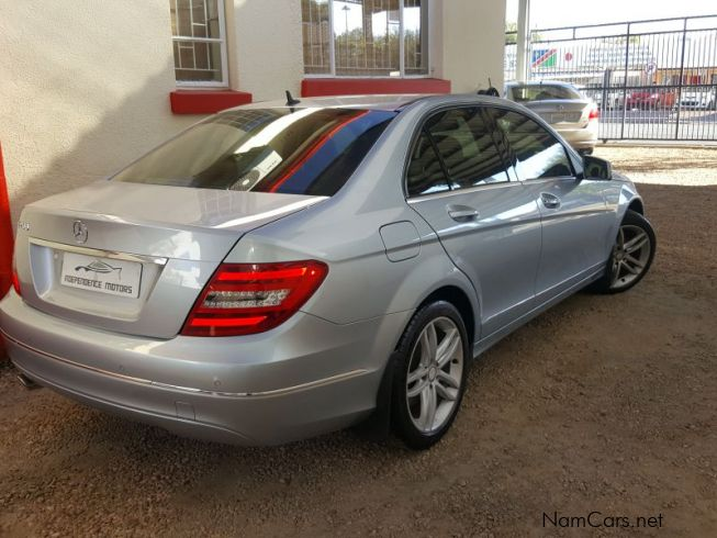 used mercedes benz c200 avantgarde a t 2012 c200. Black Bedroom Furniture Sets. Home Design Ideas