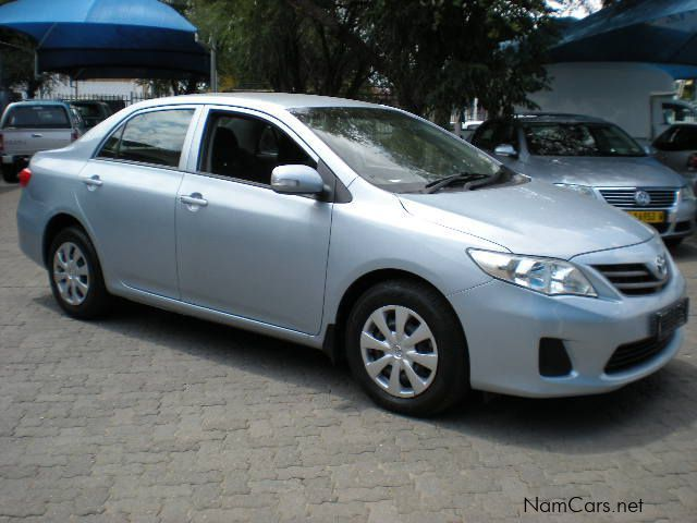 used toyota corolla 1 6 professional 2012 corolla 1 6 professional for sale windhoek toyota. Black Bedroom Furniture Sets. Home Design Ideas