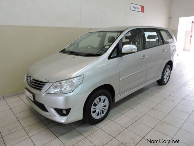 Used Toyota Innova 2 7 Vvt I 8 Seater 2012 Innova 2 7 Vvt I 8 Seater For Sale Walvis Bay