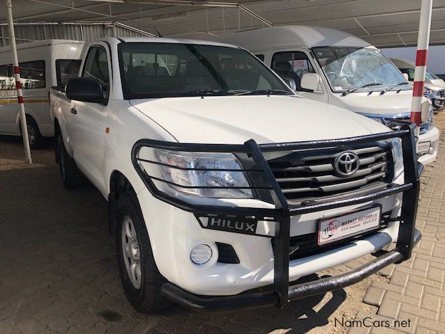 Toyota Hilux 2.5 D4D 4x4 S/C manual in Namibia