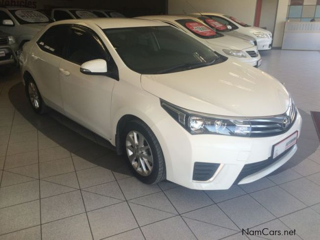 used toyota corolla 1 6 prestige 2014 corolla 1 6 prestige for sale mariental toyota corolla. Black Bedroom Furniture Sets. Home Design Ideas