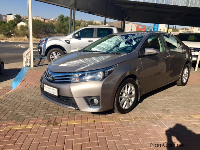 used toyota corolla 1 8 exclusive 2015 corolla 1 8 exclusive for sale windhoek toyota. Black Bedroom Furniture Sets. Home Design Ideas