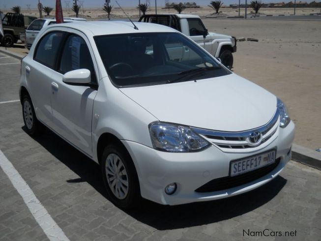 Used Toyota Etios 1 5 Xs 2015 Etios 1 5 Xs For Sale