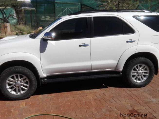 Toyota Fortuner D4D 2x4 Raised Body in Namibia
