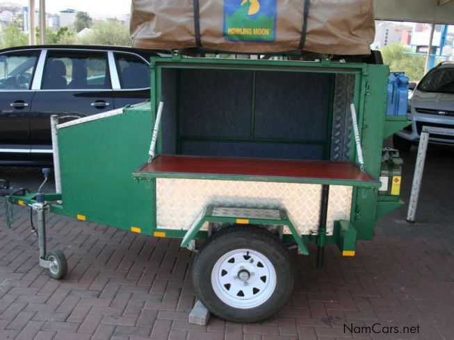 Homebuilt Camping Trailer in Namibia