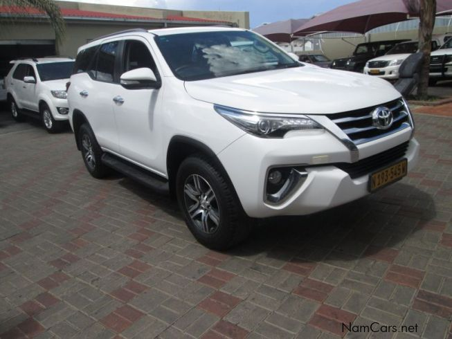 Toyota Fortuner GD6in Namibia