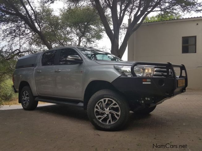 Toyota Hilux 2.8 GD6 4x4 in Namibia