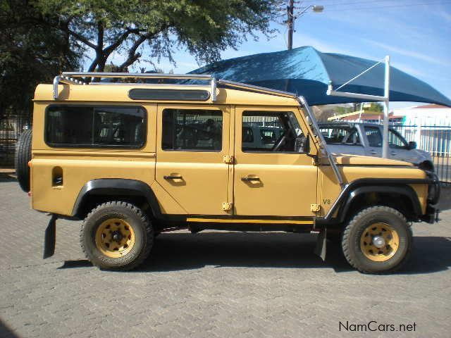 used land rover defender 110 3 9 v8 1993 defender 110 3 9 v8 for sale windhoek land rover. Black Bedroom Furniture Sets. Home Design Ideas