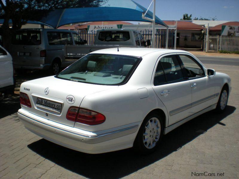 Used mercedes benz e240 elegance 2000 e240 elegance for for Mercedes benz e350 service c