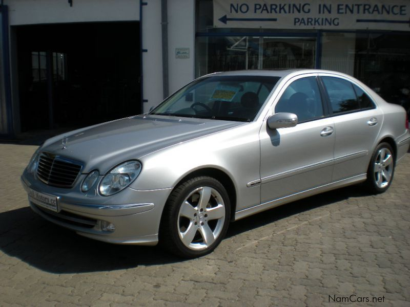 used mercedes benz e500 avantgarde 2003 e500 avantgarde for sale windhoek mercedes benz e500. Black Bedroom Furniture Sets. Home Design Ideas