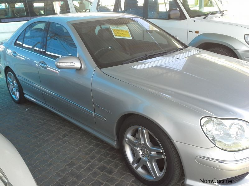 Used Mercedes-Benz s55 | 2003 s55 for sale | Windhoek Mercedes-Benz