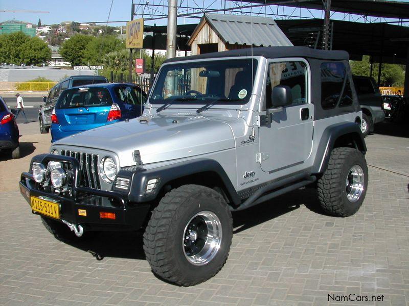 used jeep wrangler 4 0 sport 2006 wrangler 4 0 sport for sale windhoek jeep wrangler 4 0. Black Bedroom Furniture Sets. Home Design Ideas