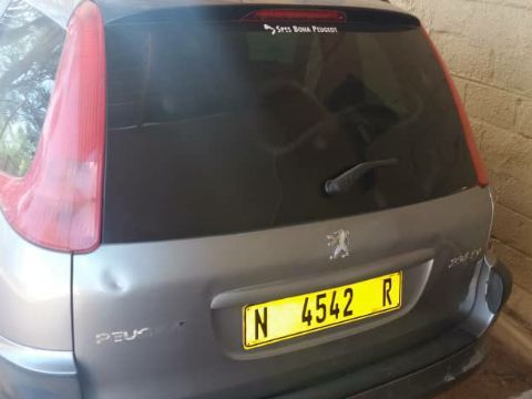 Peugeot 206 in Namibia