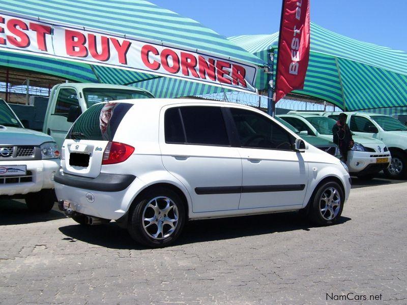 Used Hyundai Getz 1 4 2007 Getz 1 4 For Sale Windhoek