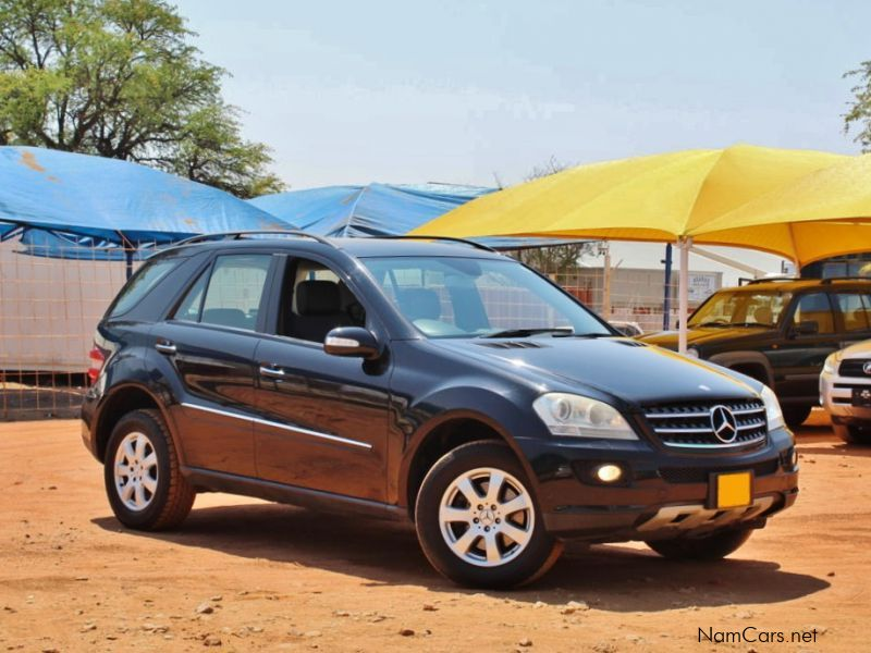 used mercedes benz ml 350 4matic 2007 ml 350 4matic for sale windhoek mercedes benz ml 350. Black Bedroom Furniture Sets. Home Design Ideas