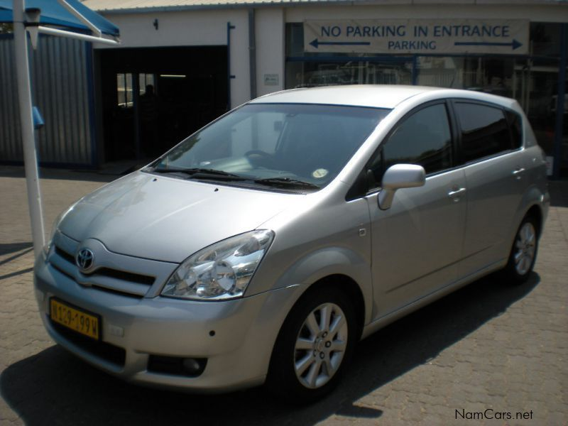 used toyota corolla verso 1 6 sx 2007 corolla verso 1 6 sx for sale windhoek toyota corolla. Black Bedroom Furniture Sets. Home Design Ideas