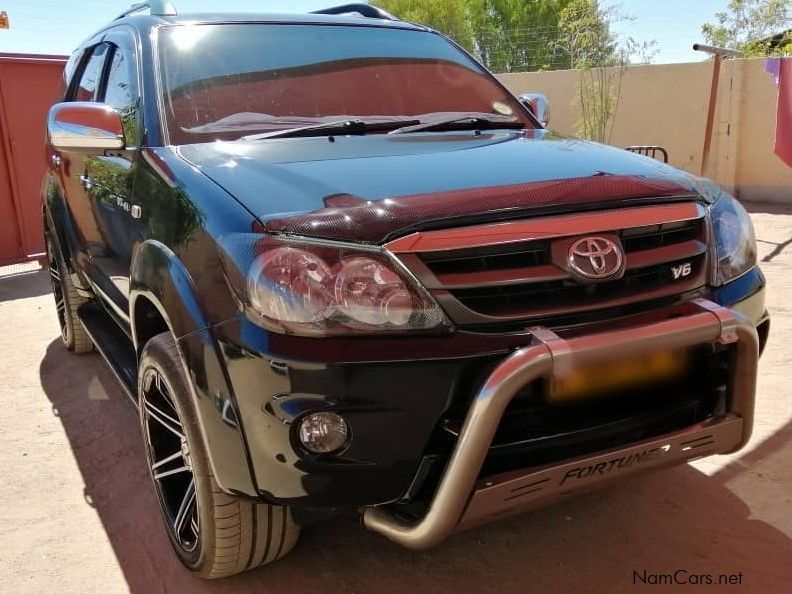 Toyota Fortuner in Namibia