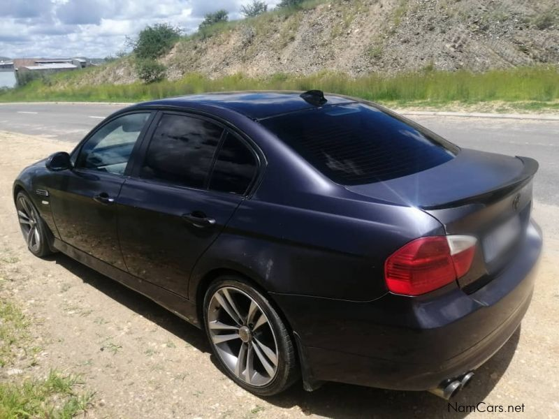 BMW E90 in Namibia