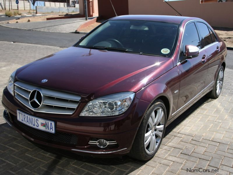 used mercedes benz c 200 k avantgarde a t 2009 c 200 k. Black Bedroom Furniture Sets. Home Design Ideas
