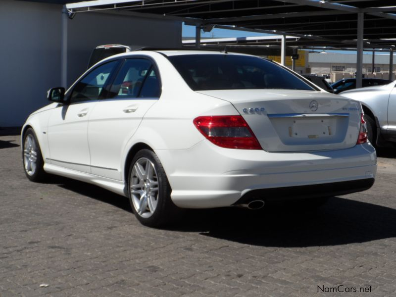 used mercedes benz c200 kompressor amg 2009 c200. Black Bedroom Furniture Sets. Home Design Ideas