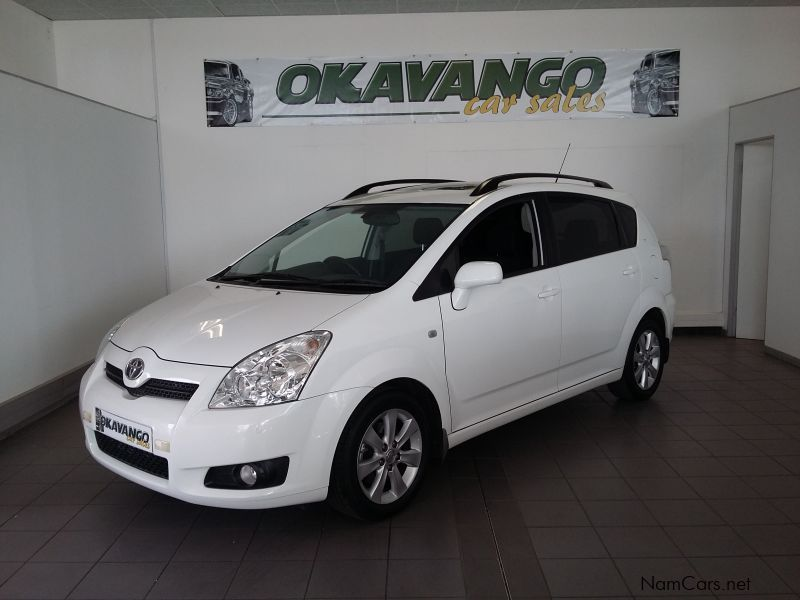 used toyota corolla verso 1 8tx 7seater 2009 corolla verso 1 8tx 7seater for sale windhoek. Black Bedroom Furniture Sets. Home Design Ideas