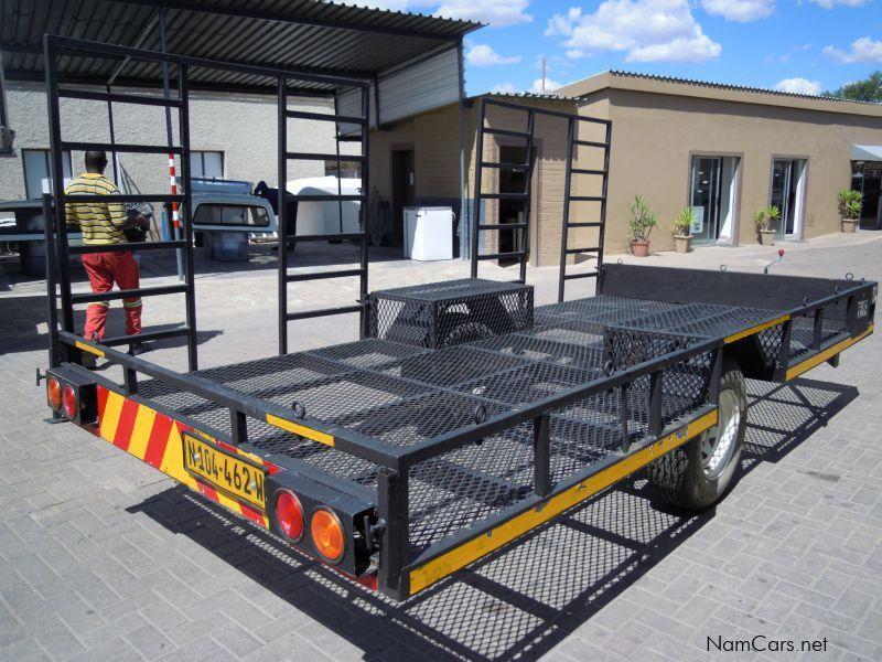 Steel Framed Cars : Used steel frame quade trailer for